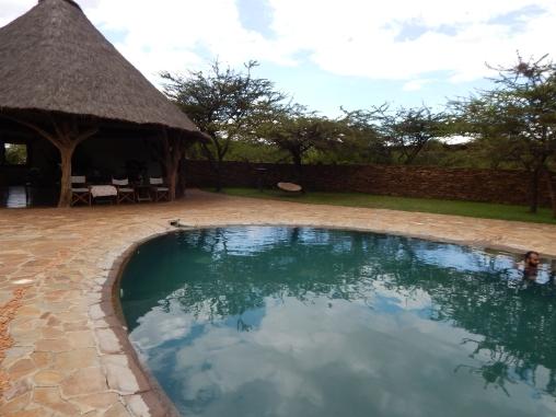 The really cool Eco-Smarte pool!