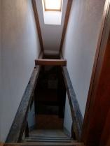 My narrow stairwell!