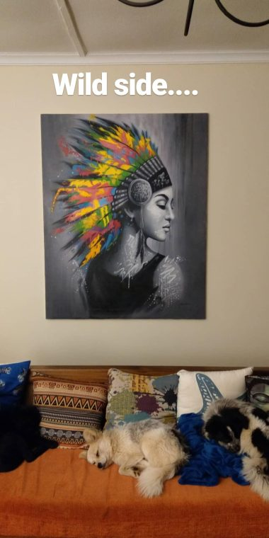My favourite - Indigenous female power!